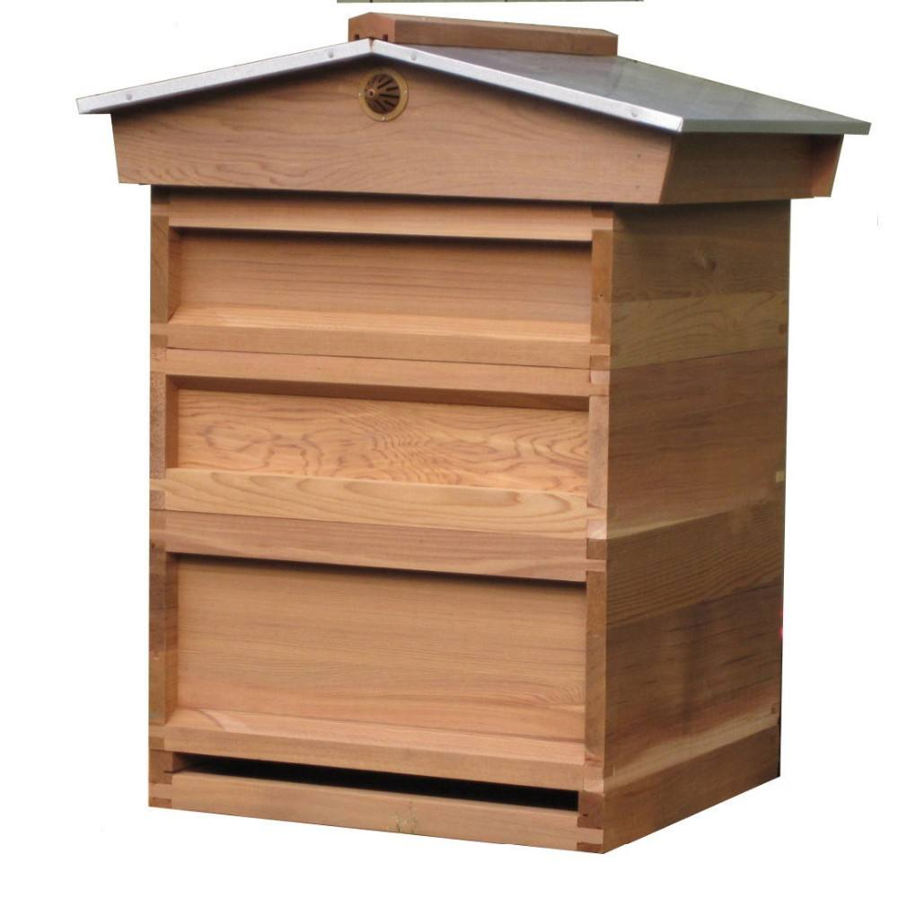 2018 Factory directly supplies reasonable price 2 layers complete beekeeping national beehive for beekeeping