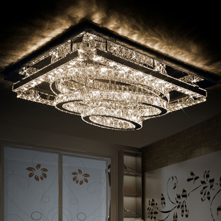 modern crystal lighting Crystal Lighting Fixtures Cristal Dinning Decorative ceiling lamp