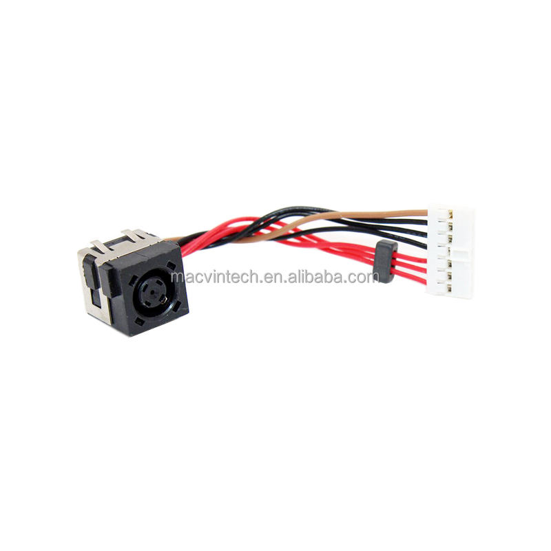 AC DC Power Jack Cable Harness Compatible with Dell Alienware 14R1 14 R1 5D8TK DC30100NG00