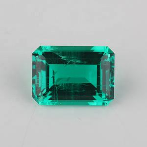 Hidrotermal Rough Emerald Gemstone 10x12mm Starsgem Pedra Sintética