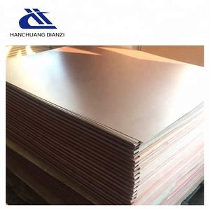 Reasonable price FR4 pcb double sided copper clad laminated fiberglass sheet CCL