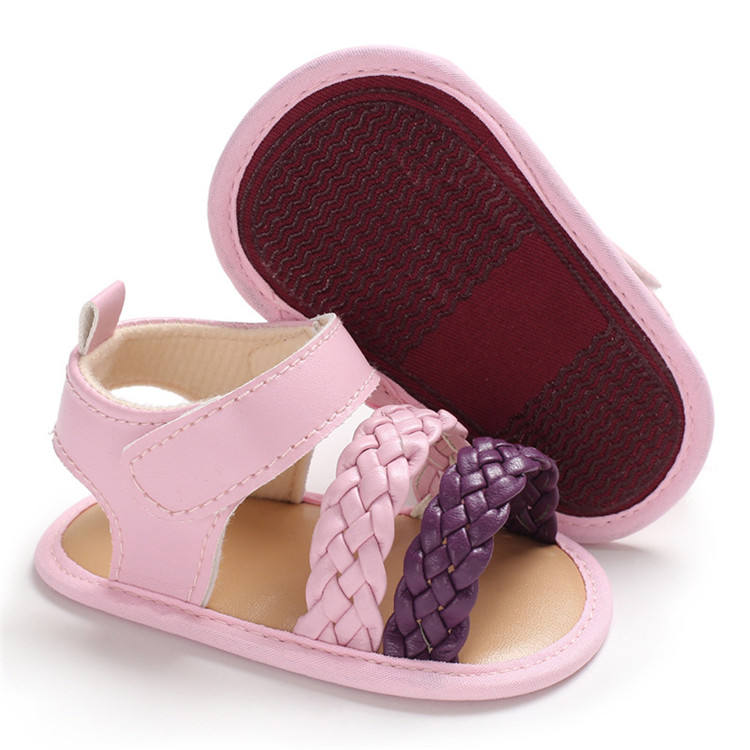 2019 Baby Sandals For Hard Summer Princess Bottom Toddler Shoes Infant Girls Shoes Girl Non-slip Colourful Newest Shoes