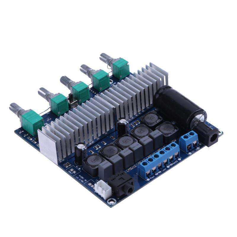 DC12V-24V 2x50W+100W Digital Audio Amplifier Board TPA3116D2 Subwoofer Speaker Amplifiers