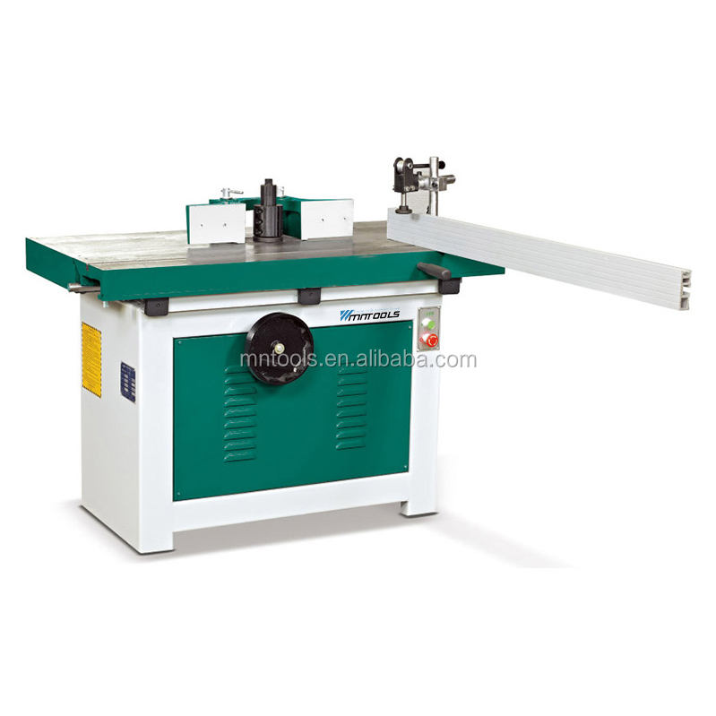 spindle shaper with sliding table