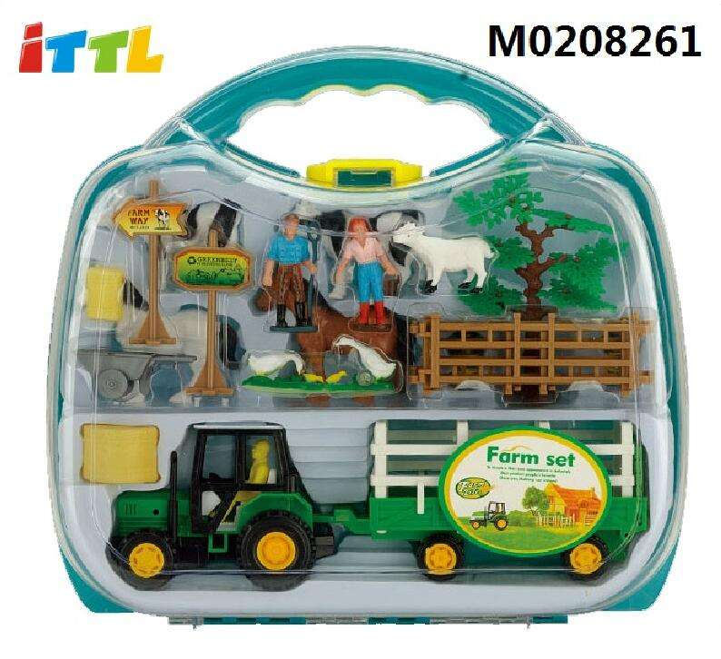 Good quality farm toy for children cheap farm toys plastic farm animal toy
