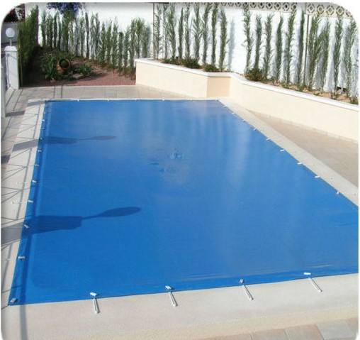 UV protection waterproof 12oz polyester pvc tarpaulin swimming pool cover