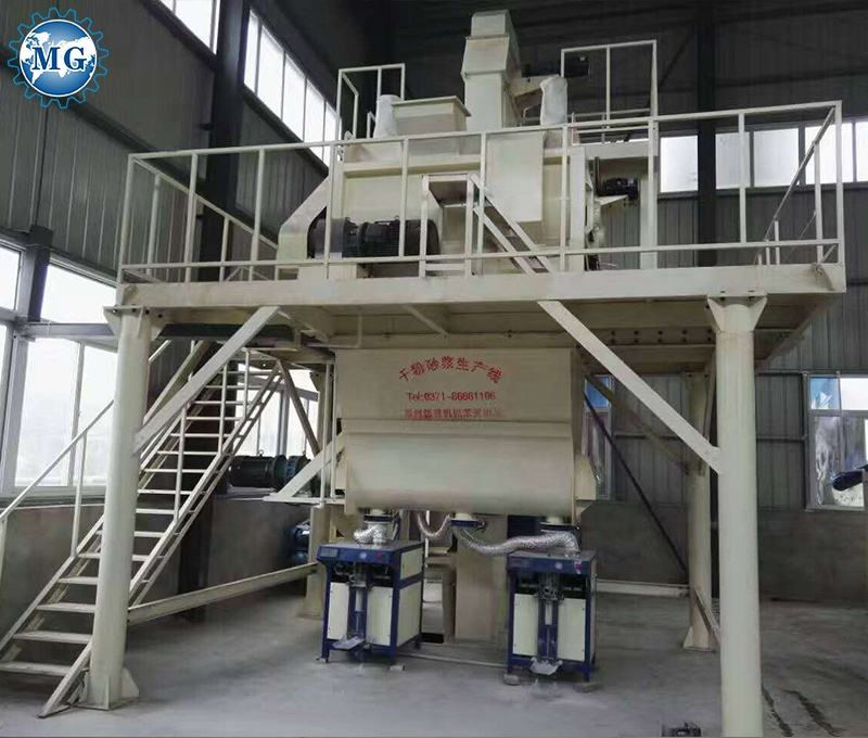 Dry Powder Mortar Machine/Wall Putty Machine Manufacturers