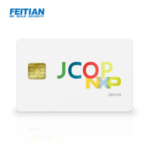 JCOP Dual Interface Ondersteuning RSA4096 ECC Smart Card Java Card J3H145