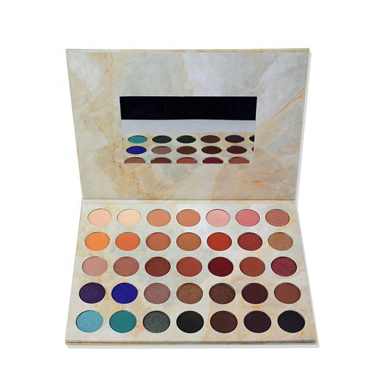 High Pigment Private Label 35 Color eyeshadow palette vegan cosmetics makeup palette