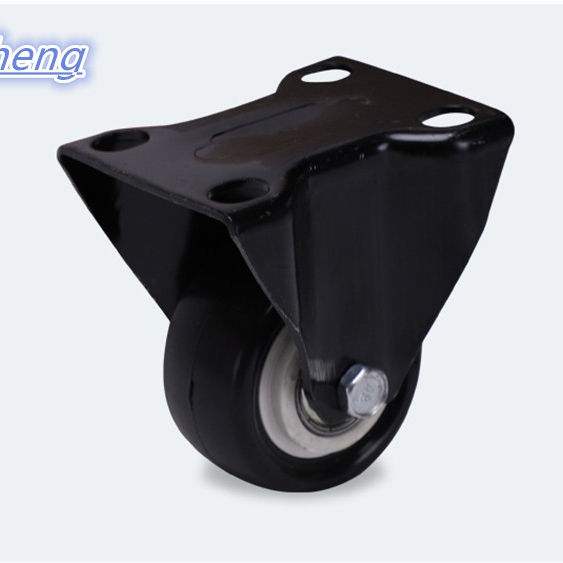 Chinese factories produce shopping cart PVC casters, stem casters