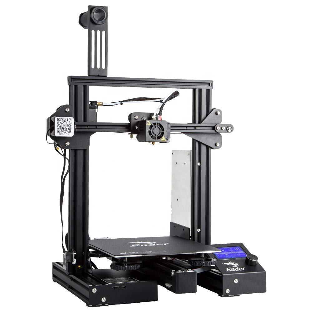 "Creality Ender 3 Pro 3D Printer with Upgrade Cmagnet Build Surface Plate and Certified Power Supply 8.6"" x 8.6"" x 9.8"""