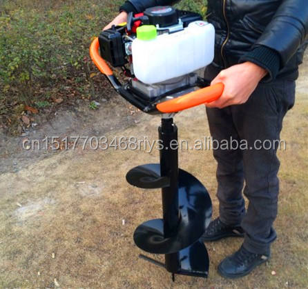 2-Stroke 52cc/63cc Single Man Gasoline Ground Drill/Earth Auger