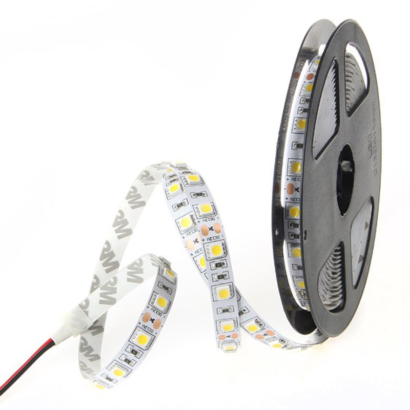 High brightness Mini Aluminum lamp body material SMD 5050 Led Flex LED Strips