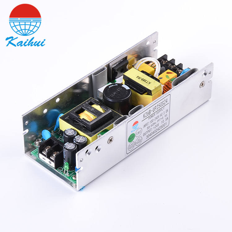 Open frame 24VDC 250W switching power supply for metal cutting machine smps K26B-UP250S24