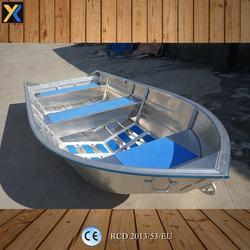 all-welded 14ft v bottom aluminum fishing boat