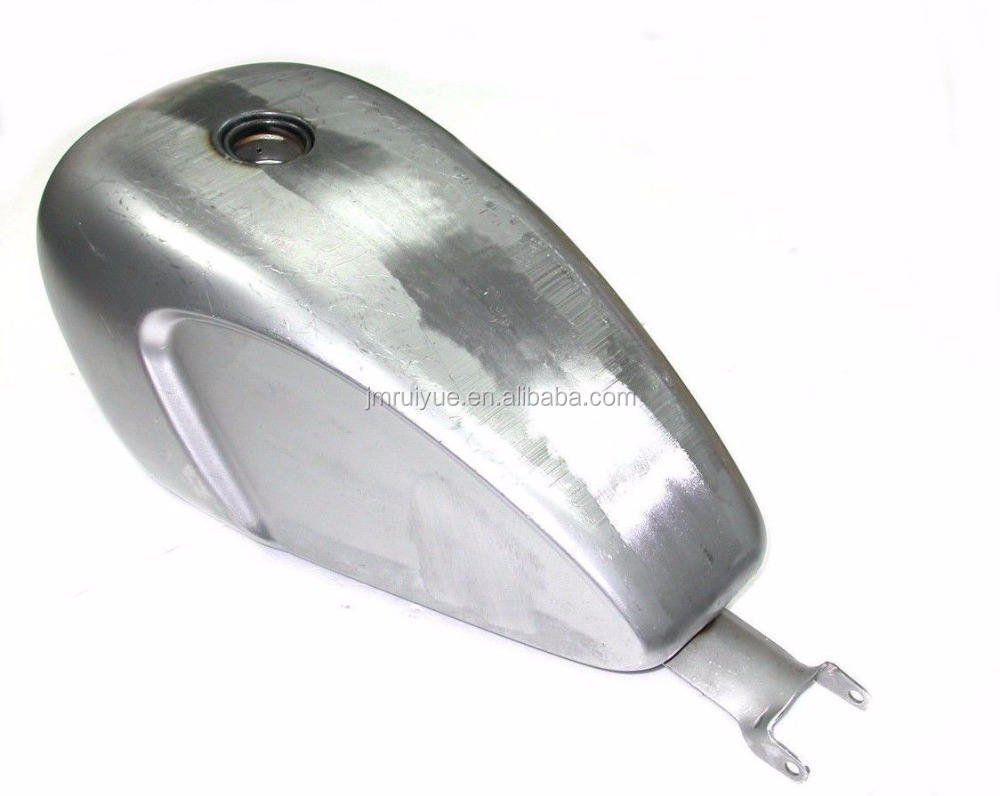 Heavy Duty Steel Deep Indented 3.3 GAL EFI Injected Fuel Gas Tank For Harley Sportster XL 2007-16