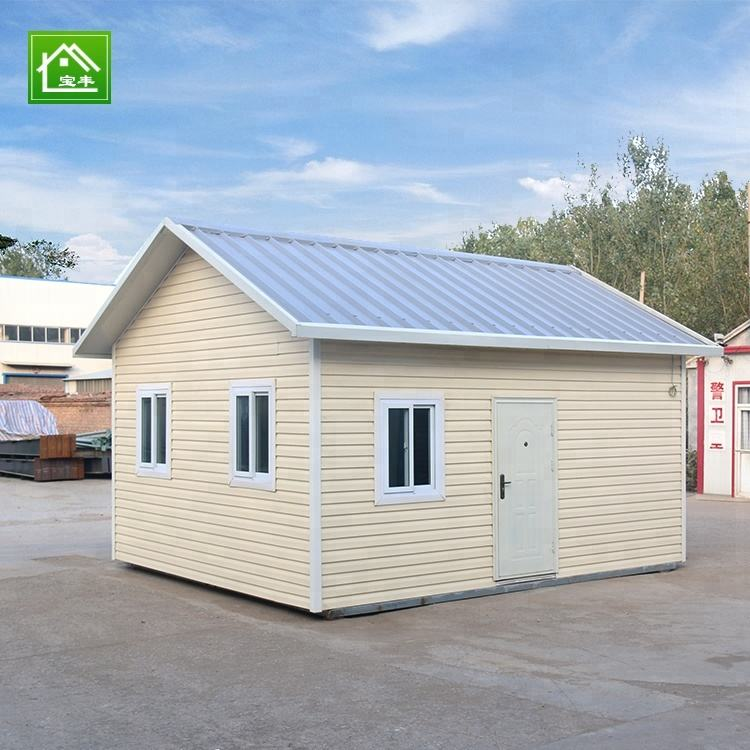 Cheap modular wooden sandwich panel prefab houses
