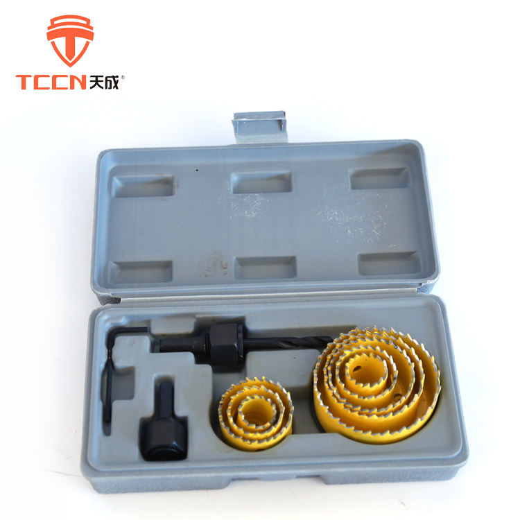 TCCN 2018 Best Selling Products HSS M42 Bi-Metal Hole Saws Sets For Wood Working