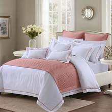 Hotel Bedding Set And Bedding Set Hotel 100% Cotton With Filling Goose Down