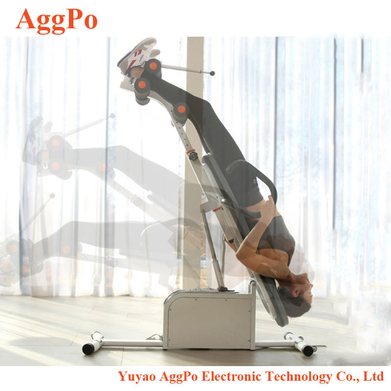 Electric handstand machine fitness club inversion table, Gravity Fitness Therapy headstand fitness machine