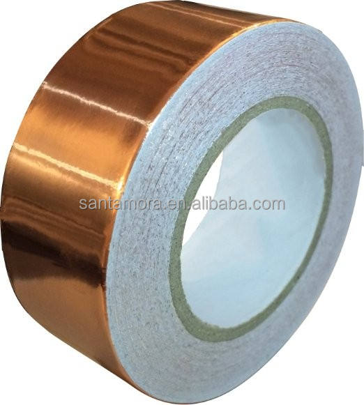 Copper Foil Tape with Conductive Adhesive Slug Repellent, EMI Shielding, Paper Circuits, Electrical Repairs