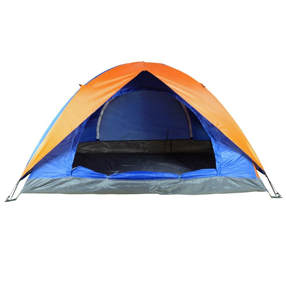Outdoor 2 Persoon Draagbare Dubbele Laag Waterdicht Camping Tent