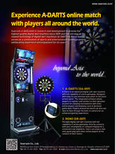 A-DARTS Digital Online Dart Machine