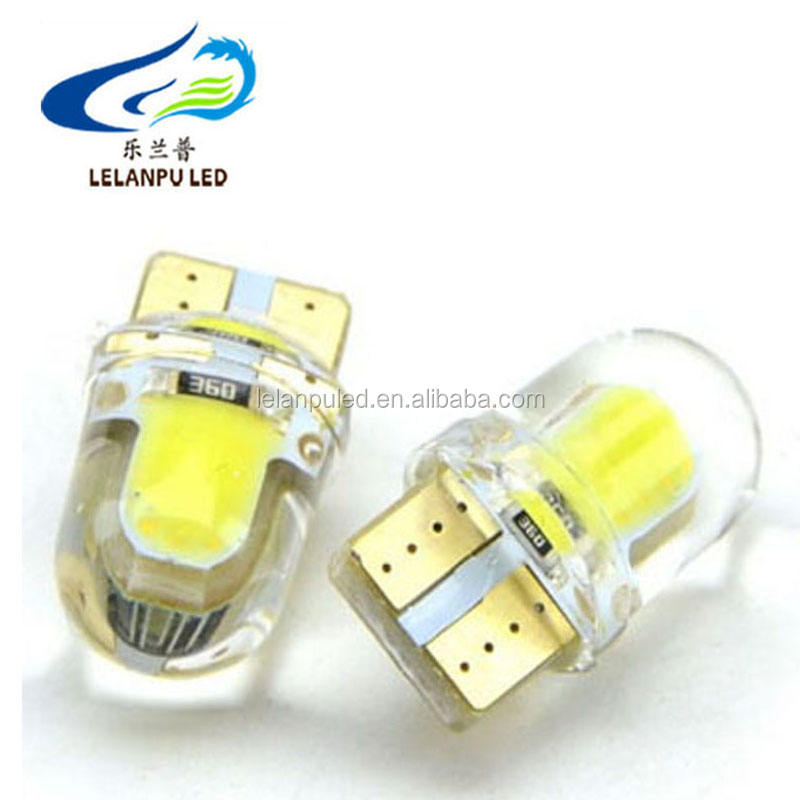 12v 24v Silicones <span class=keywords><strong>t10</strong></span> cob led 12 SMD High Power COB <span class=keywords><strong>T10</strong></span> LED 194 168 <span class=keywords><strong>w5w</strong></span> <span class=keywords><strong>t10</strong></span> led Side License Plate Light Lamp Bulb