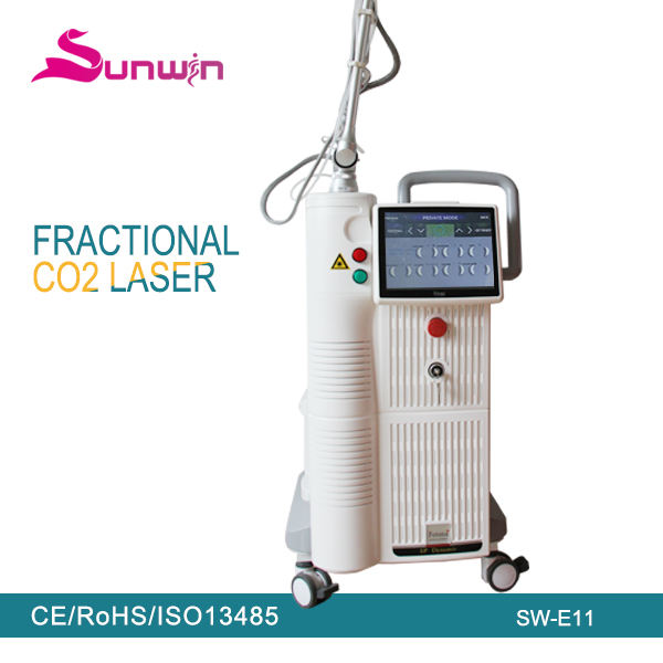 Medical grade vaginal tightening No Downtime rf tube fractional c02 laser acne marks treatment