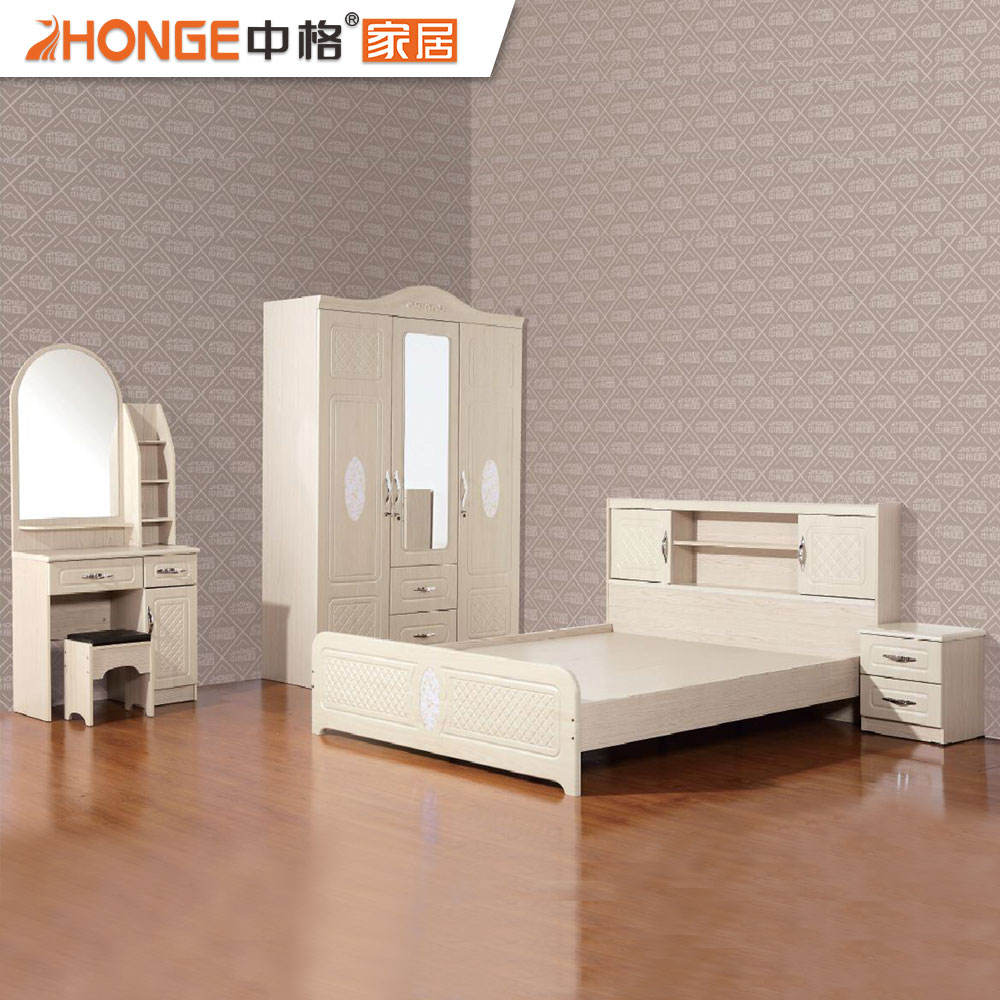 Beautiful MDF Classic Bedroom Sets Wooden Malaysia Furniture Manufacturer