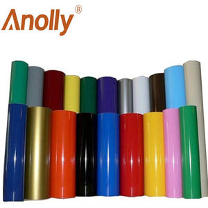 Anolly Color Vinyl High Glossy Black 1.22*50m won't change color after stretch