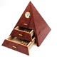 pyramid cigar humidor shape packaging box for cigars