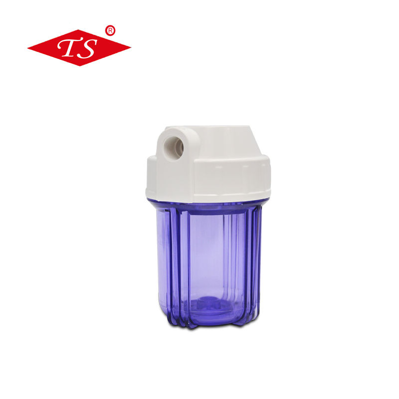 5 Inch Clear Polypropyleen Plastic Water Filter Behuizing In Water Filter Deel