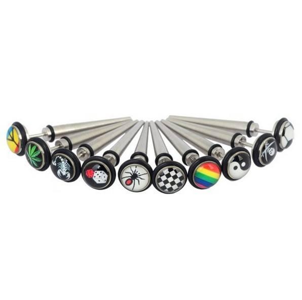 ステンレス鋼磁気チーター耳テーパーフェイクチーター耳プラグ