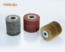 Hot Sale Good Quality Extra Thick Abrasive Nylon Wheel Brush
