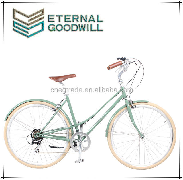 Vintage bike retro bicycle fashion antique bikes vintage bike aluminum women road bike/city bicycle/the bikes GB3061