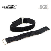hight precision beautiful hook and loop watch band with nylon