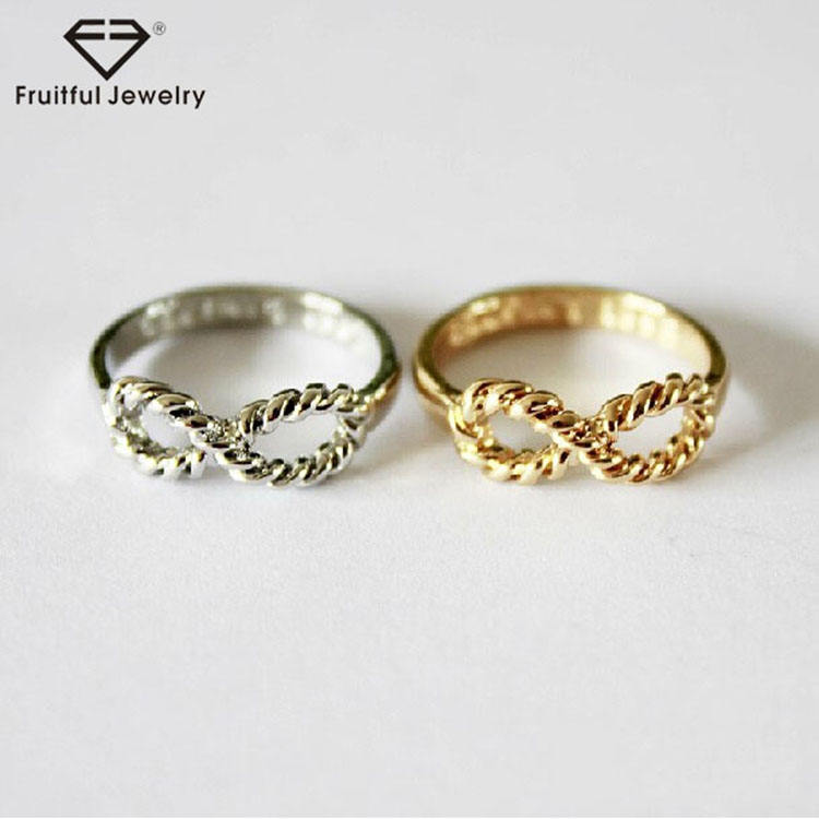 Auspicious and wonderful present digital mini 8 word alloy ring chinese wholesale suppliers online rings wholesale products