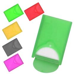 Cheap design safety baby pocket travelling personal care smart perfume toilet square plastic compact case hand paper soap sheets
