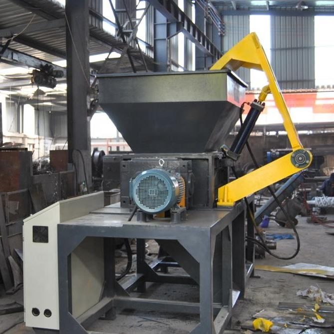 Industrial Plastic Shredder Machine / Single Shaft Shredder / Double Shaft Shredder