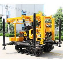 200 meter crawler water well drilling rig machine/Crawler water drilling machine/water well drilling rig for soil geology
