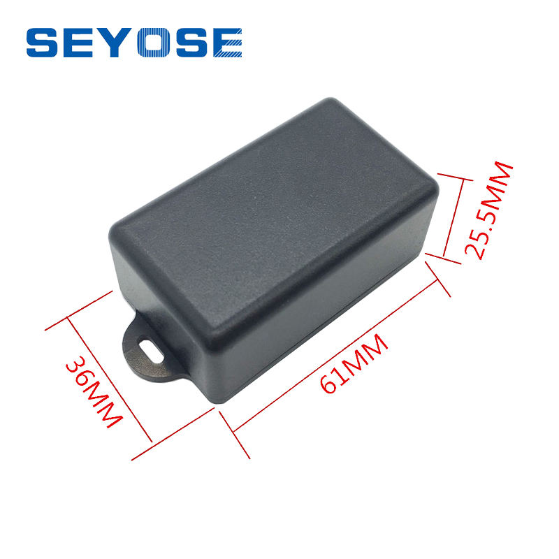 wall mounted small enclosures 61*36*25.5mm plastic electronic project box diy abs box junction box project case