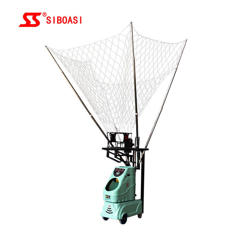 Newest design S6839 automatic basketball machine training machines with free net