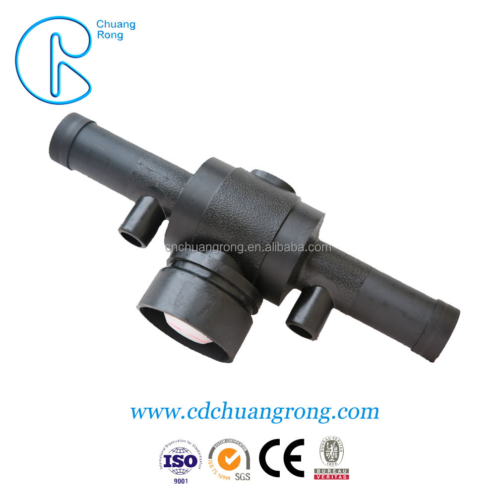 Factory Customized China Supplied PE100 Mains Water Pipe Fittings