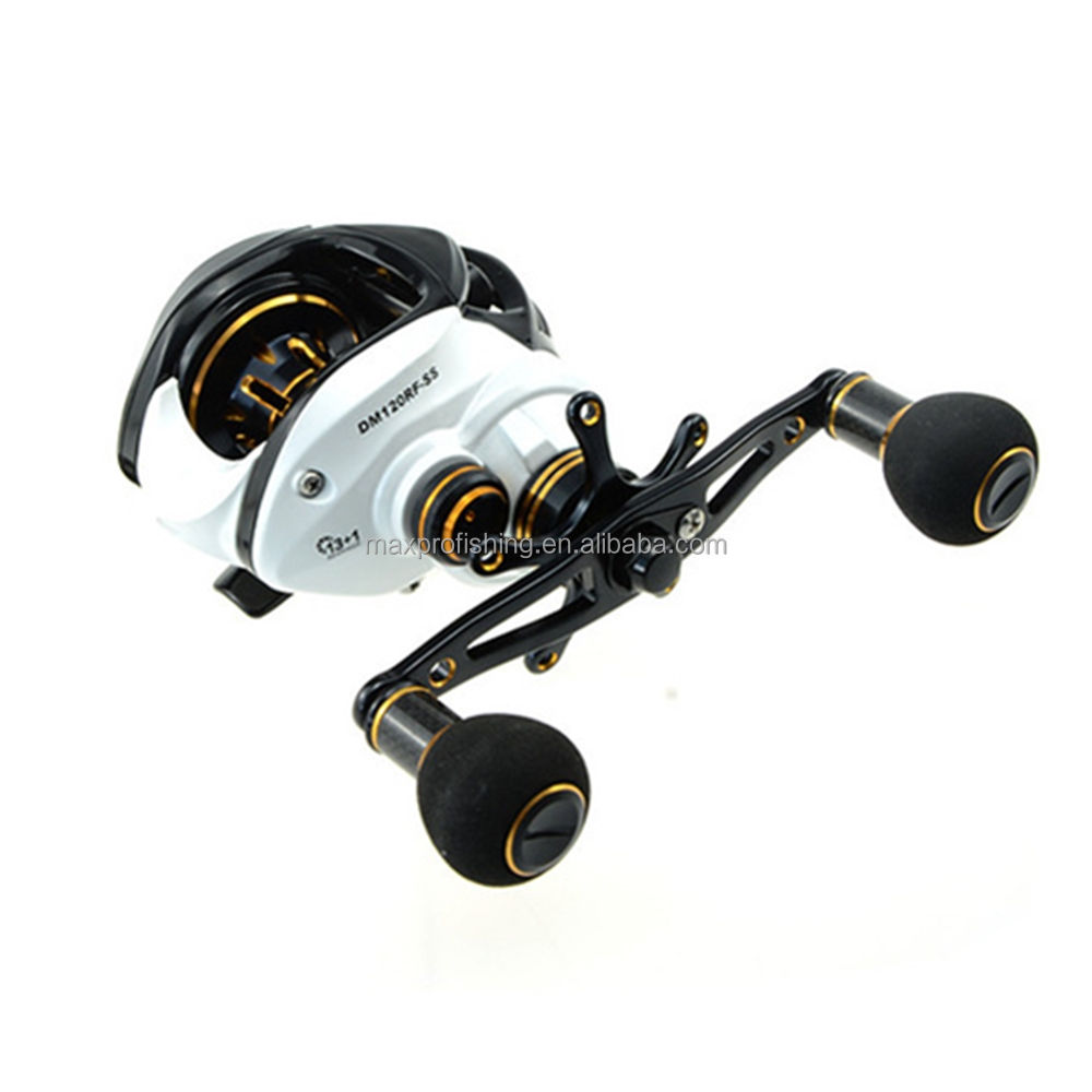 13+1BB CNC Full Metal Casting Fishing Baitcasting Reel Saltwater