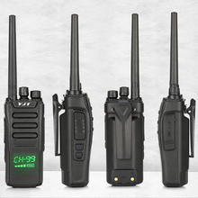 15W High Power Professional Talkie Walkie 99 channels Long Range UHF Handheld  Walkie Talkie Radio 20km 15 km 10km Range