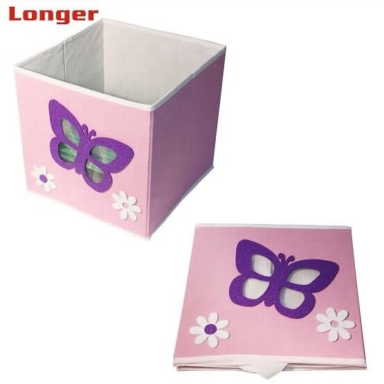 Household Folding storage bins Non Woven Foldable Storage Box from good suppliers