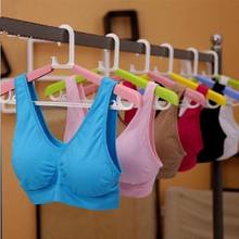 Hot Sell Fashion Underwear Vest Stretch Wireless Women Sports Bra Yoga Bra