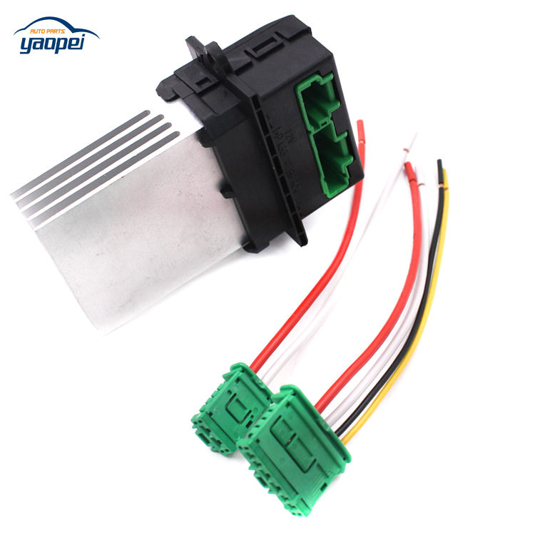 Air Conditioning Blower Resistor+Connector//Wire For PEUGEOT 207 607 7701048390