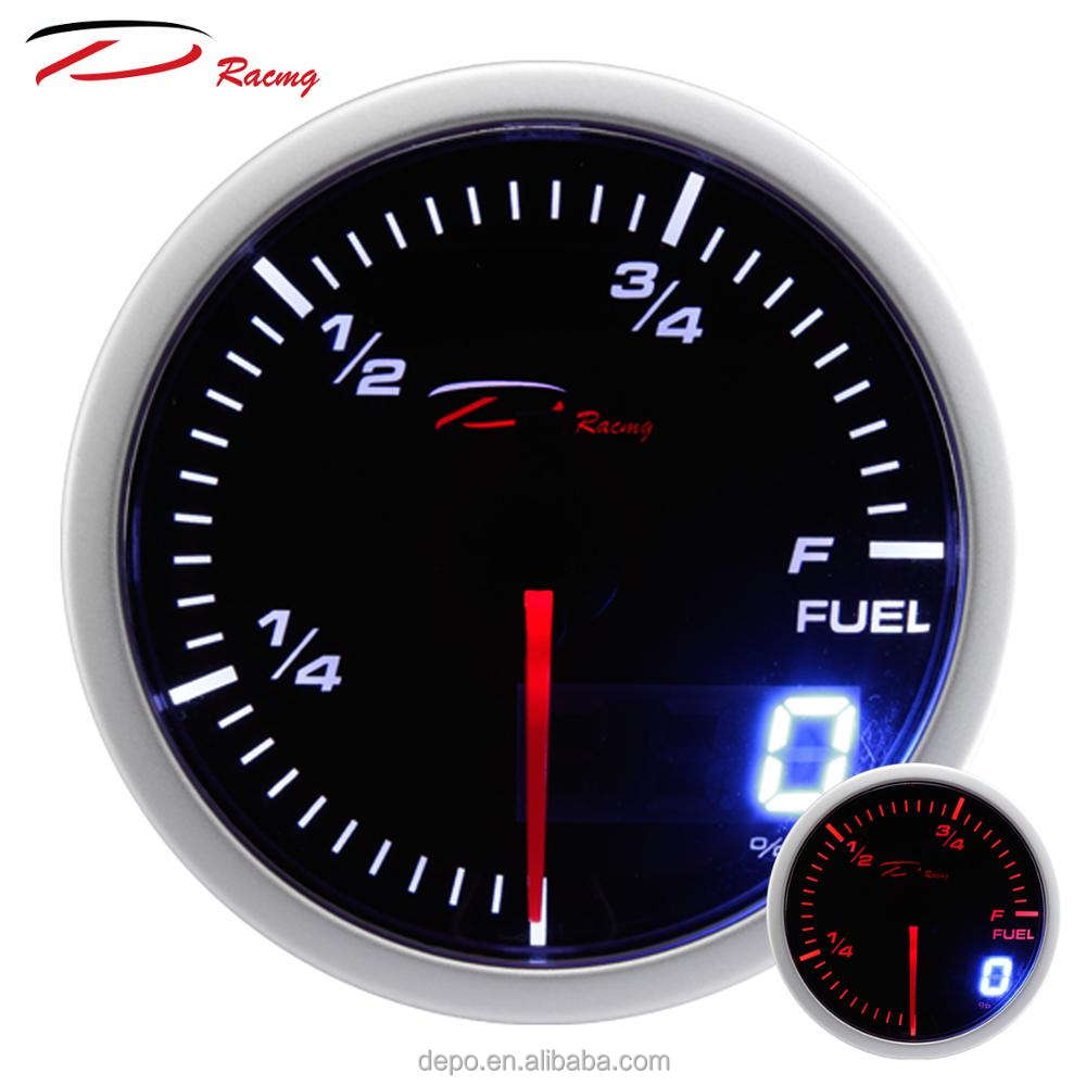 "52mm 2"" Dual Display Fuel Level Gauge"